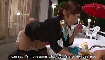 日本航空空中小姐當起客服溫柔隨便玩弄小穴公開幹炮,中出內射、空姐、黑絲襪成人影片、免費A片