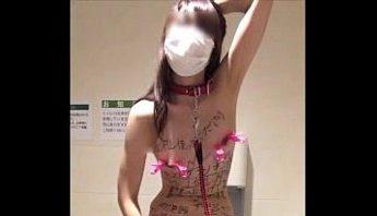 日本變態痴女OL公廁自拍羞辱裸照,日本、痴女、自拍成人影片、免費A片