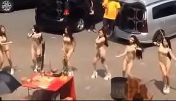 台灣廟會美女成群熱舞,台灣、廟會、跳舞成人影片、免費A片