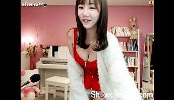 韓國正妹沒被選上少女時代只好在家裡視訊上表演,正妹、視訊、韓國成人影片、免費A片