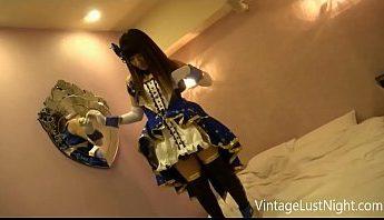 萬聖節~cosplay AKB48跟男友開萬聖節派對,COSPLAY、愛撫、自摸成人影片、免費A片